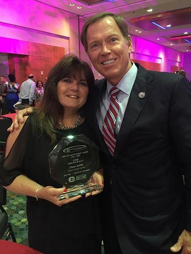 Chamber Staff Member Diane Raihle Receives 3rd Lifetime Achievement Award