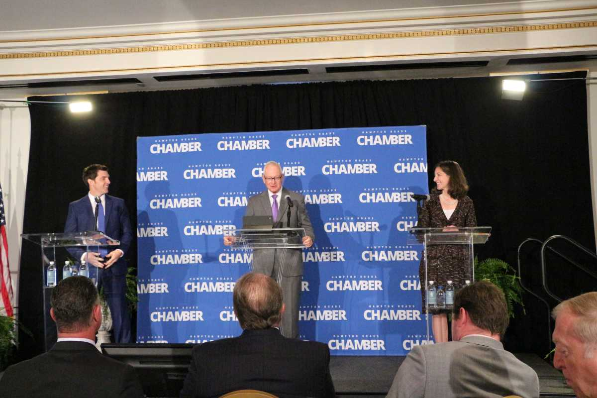 Hampton Roads Chamber Hosts U.S. 2nd District Congressional Debate