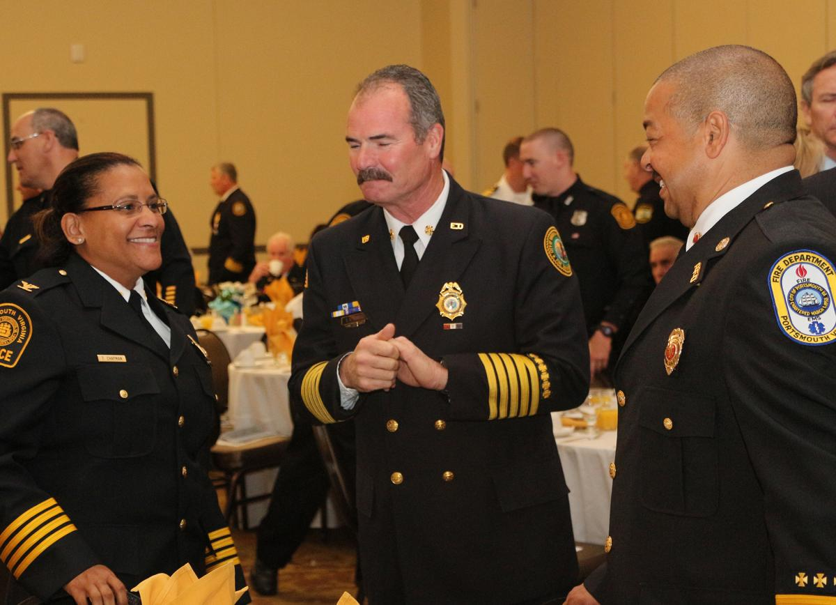 Hampton Roads Chamber To Honor Local First Responders at Valor Awards