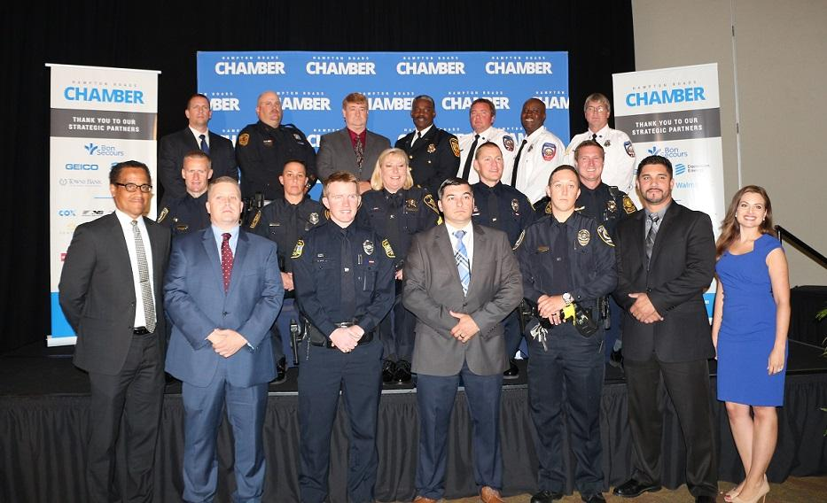 Hampton Roads Chamber Honors Local First Responders at Valor Awards