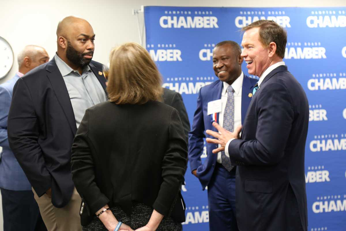 Hampton Roads Chamber Attends ChamberRVA's Legislative Reception