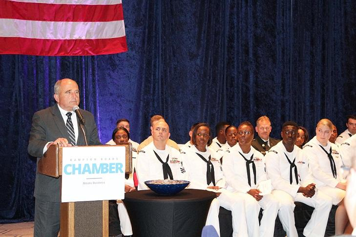 Chamber Honors 110 Service Members at Military Recognition Reception