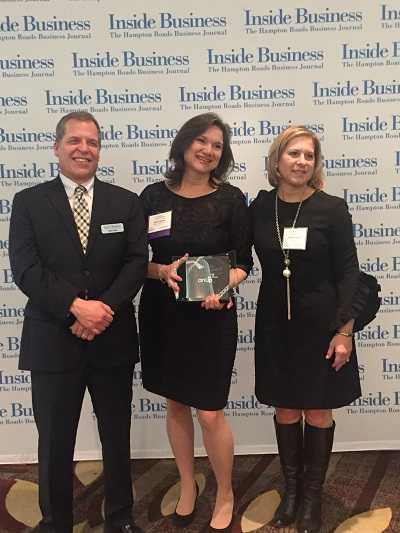 Sylvia Haines, Executive Vice President of Operations for the Chamber honored with  2017 Women In Business Achievement Award