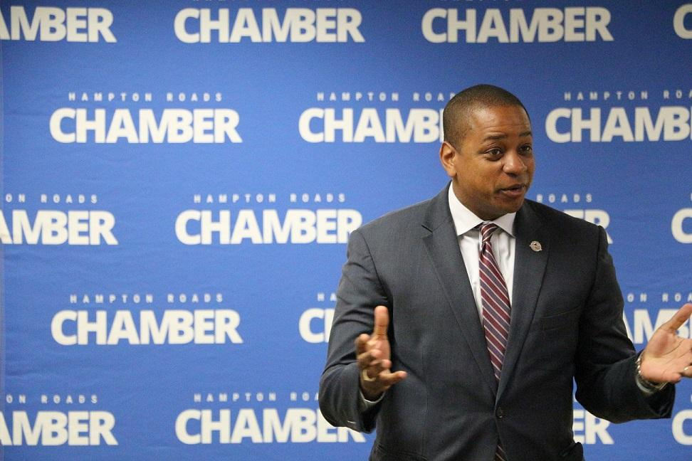 Chamber Welcomes Virginia Lieutenant Governor Candidate Justin Fairfax