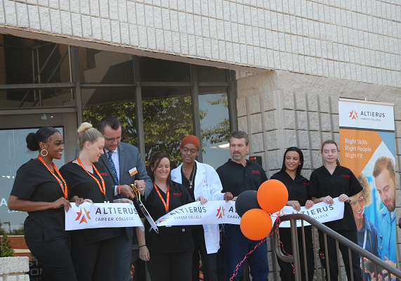 Altierus Career College celebrates rebrand and expansion of workforce development