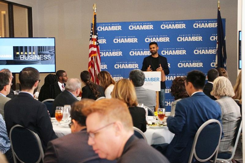"Chamber Strome Business Series Begins With ""Disruptor"" Kunal Mehta"