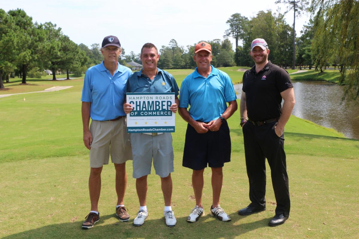 Hampton Roads Chamber of Commerce Wounded Warrior Golf Outing
