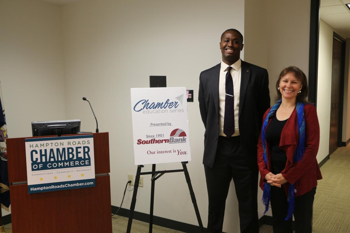 DIY Website Essentials Presented by Nora Firestone at the Chamber's Education Series