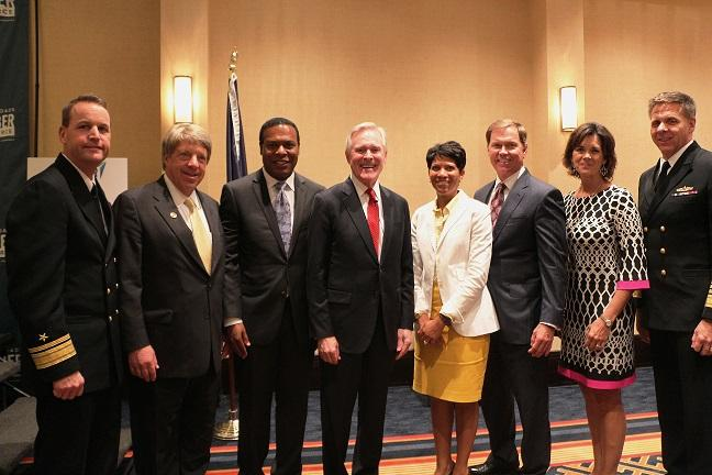Secretary of the Navy, Ray Mabus Addresses Hampton Roads Business Community