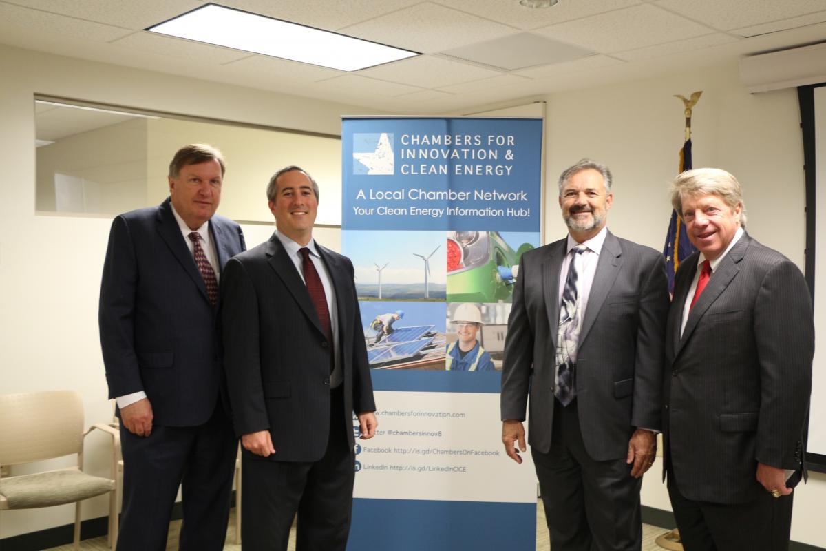 Hampton Roads Chamber of Commerce and Chambers for Innovation and Clean Energy Hold Round Table Discussion