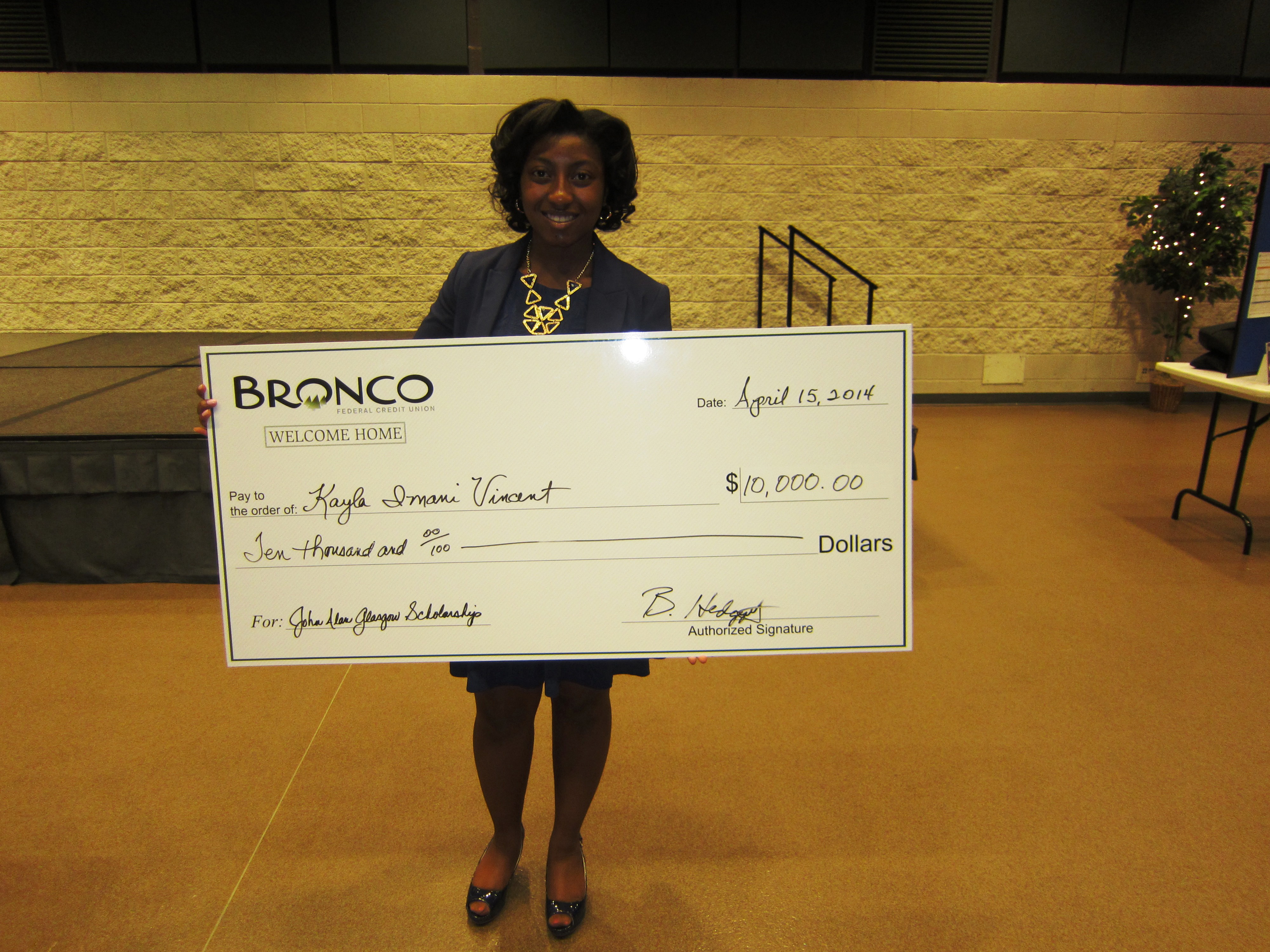 Bronco Federal Credit Union Awards 10 Local High School Seniors With Scholarships