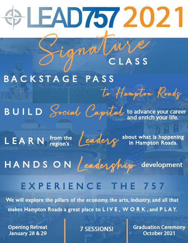 LEAD 757 Signature 2021 Class - Application and Dates