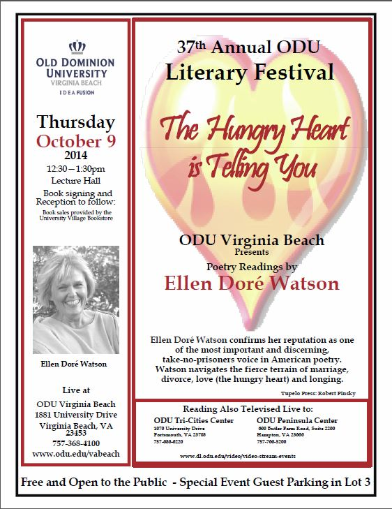 Celebrate ODUs 37th Annual Literary Festival