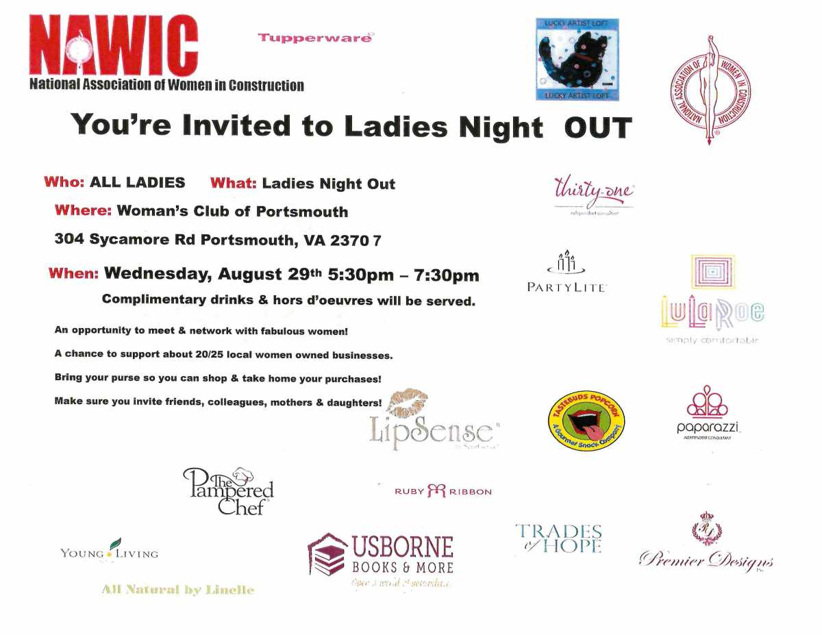 You're Invited to Ladies Night Out!