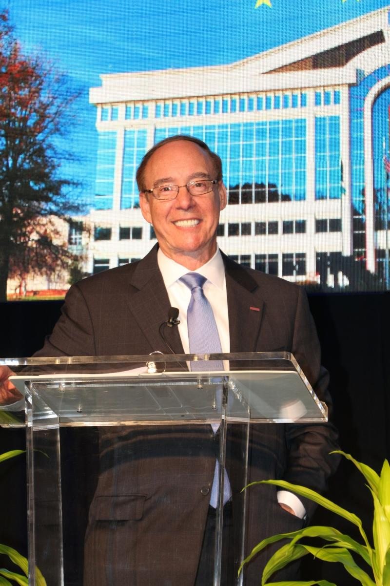 Mayor Krasnoff Addresses the City of Chesapeake at the Hampton Roads Chamber of Commerce Chesapeake State of the City