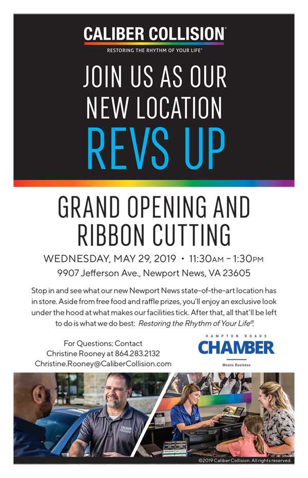 Caliber Collision: Grand Opening & Ribbon Cutting