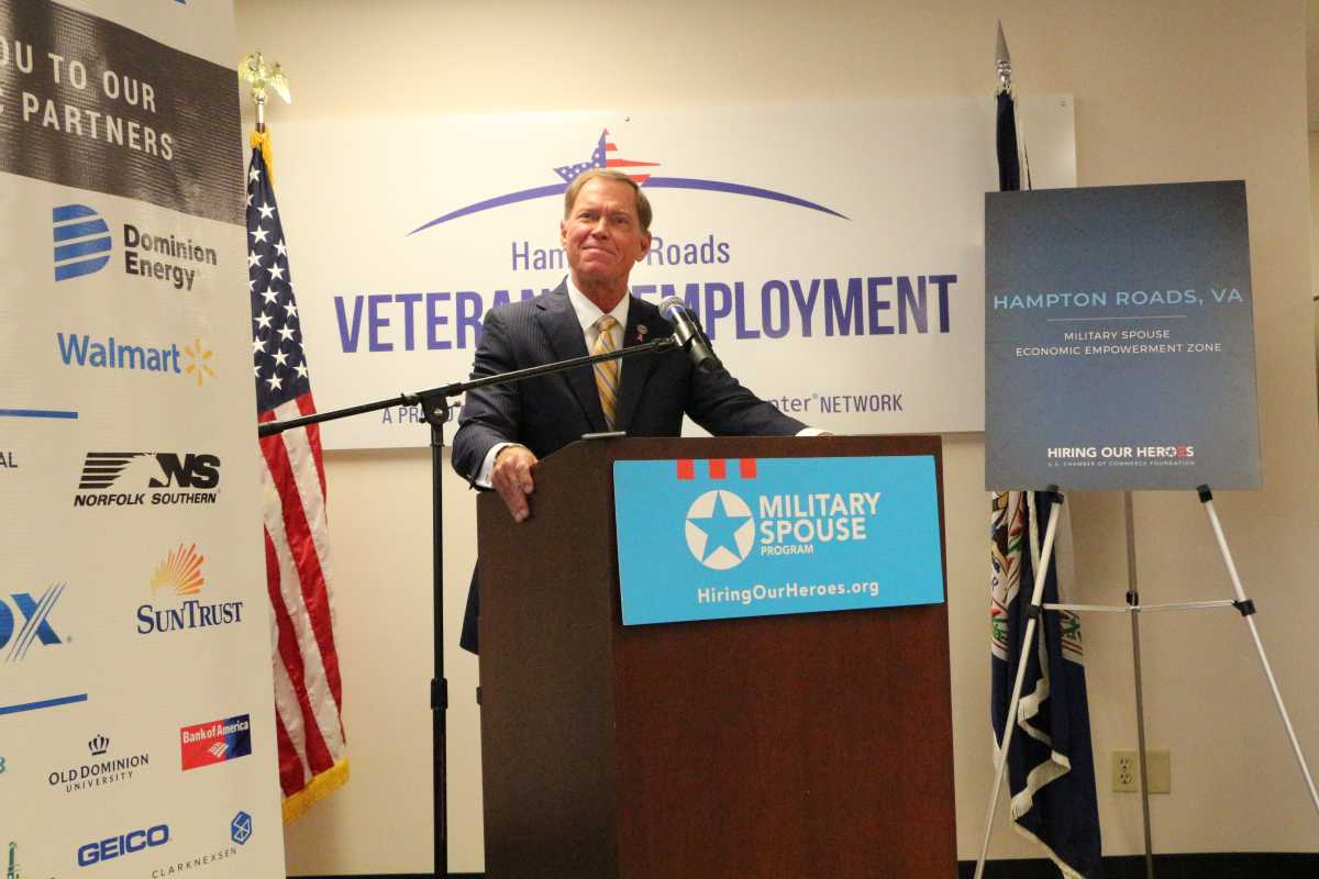 Hampton Roads is the newest Military Spouse Economic Empowerment Zone (MSEEZ)