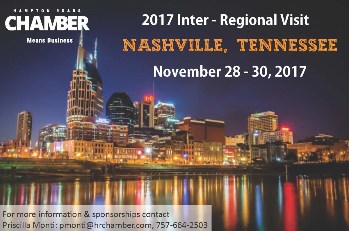 Ignite the Hampton Roads Economy:  Learn From Nashville's Success