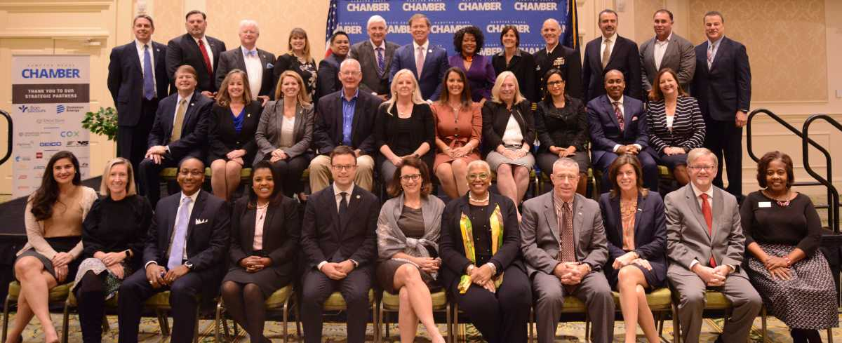 32 Hampton Roads Leaders Honored at the New Executive Welcome Luncheon