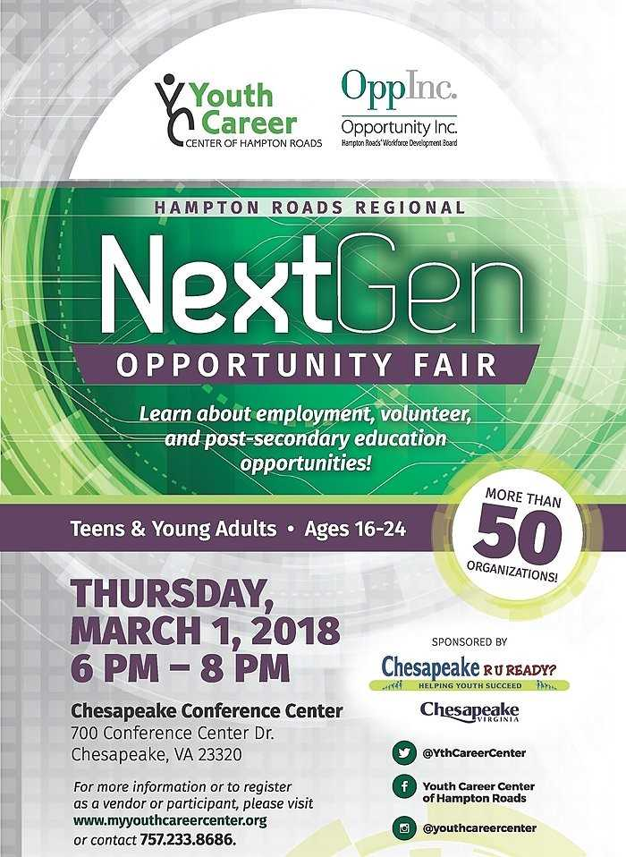 NextGen Opportunity Fair