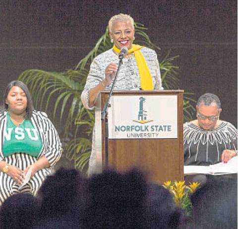 Norfolk State's 7th president eyes school's 'destiny'