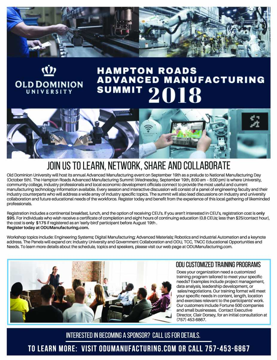 Hampton Roads Advanced Manufacturing Summit