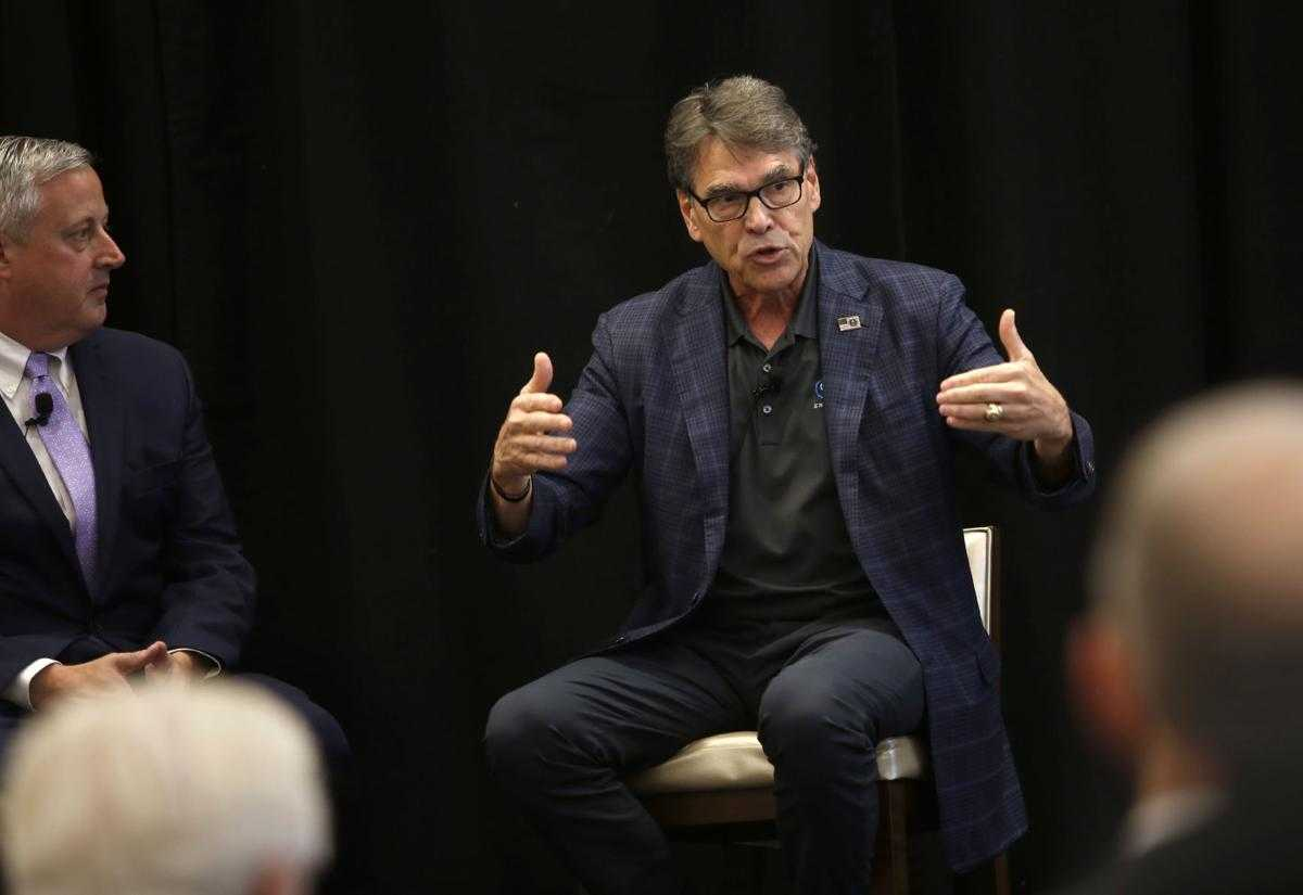"Perry: ""Stunning turnaround"" in energy production, policy is fueling economy"