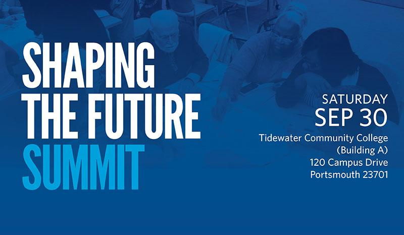 YOU'RE INVITED TO THE SHAPING THE FUTURE SUMMIT