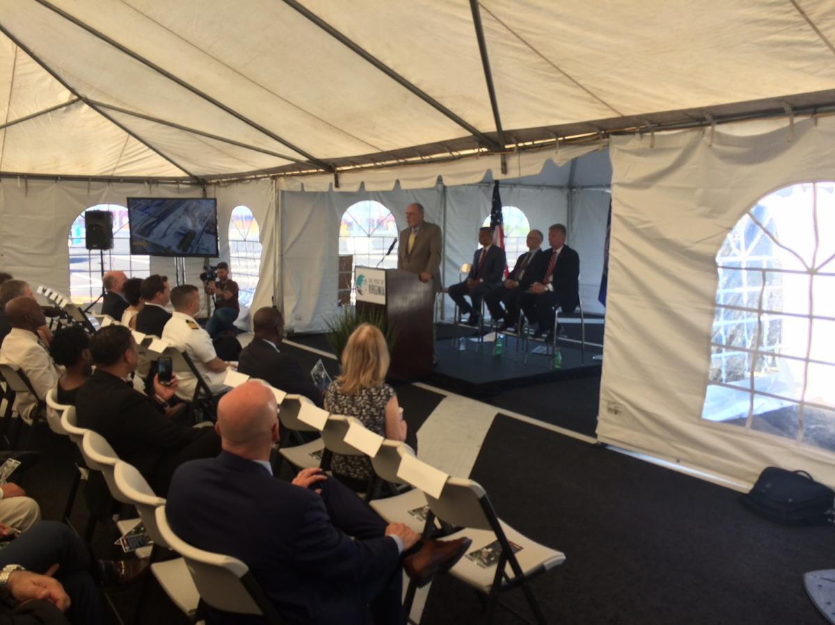 Hampton Roads Chamber Represented at NIT North Gate Dedication