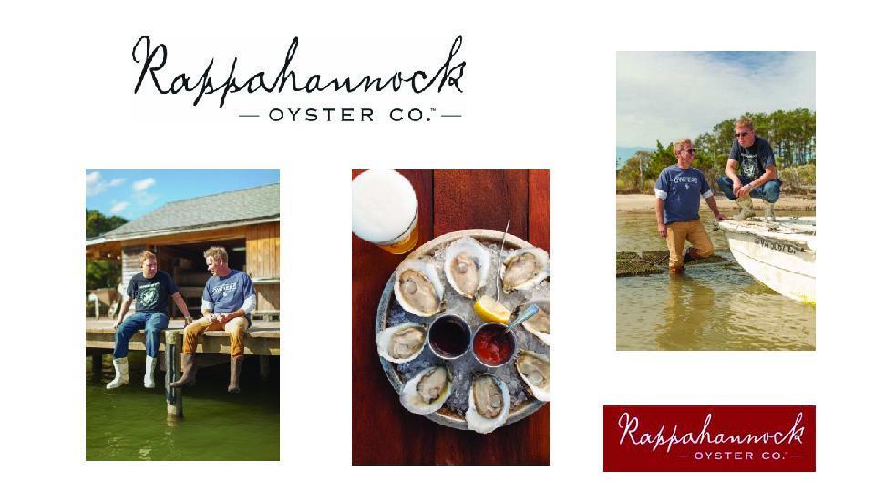 Rappahannock Oyster Co. Joins Waterside District
