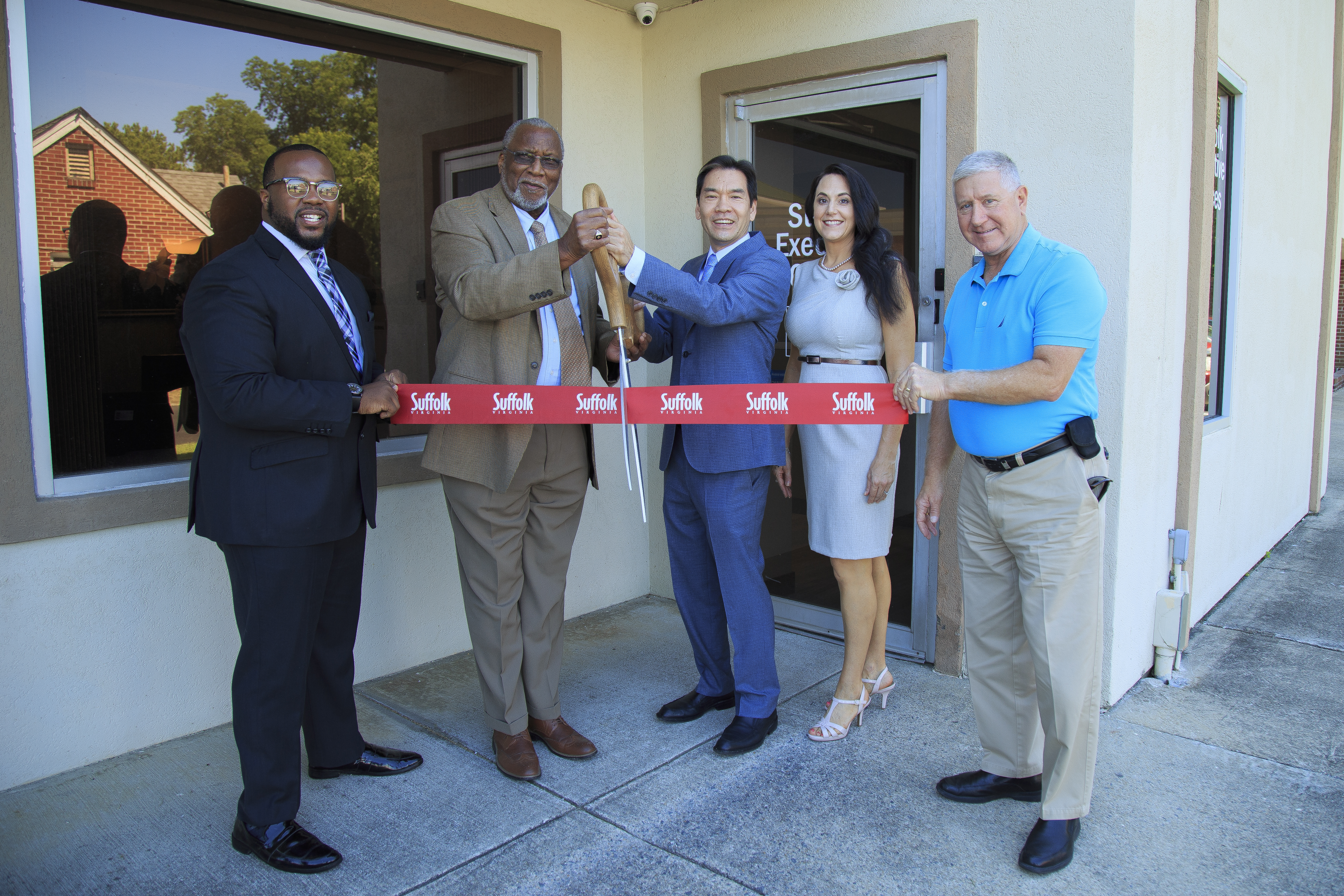 Suffolk Executive Offices Ribbon Cutting