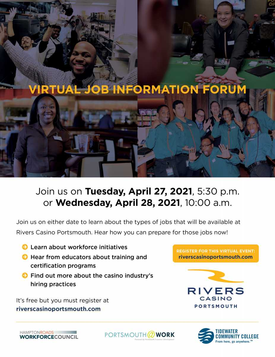 Rivers Casino Portsmouth-Virtual Job Information Forum