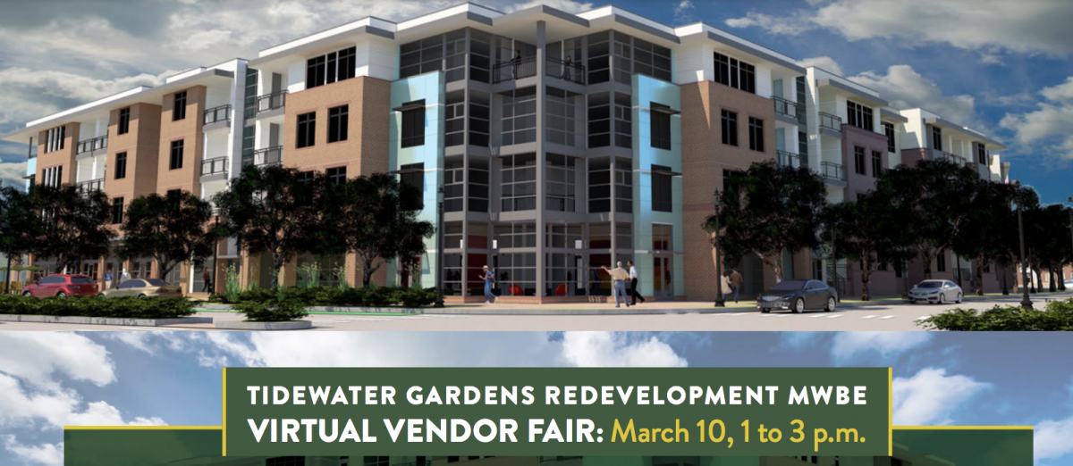 Tidewater Gardens Redevelopment MWBE Virtual Vendor Fair