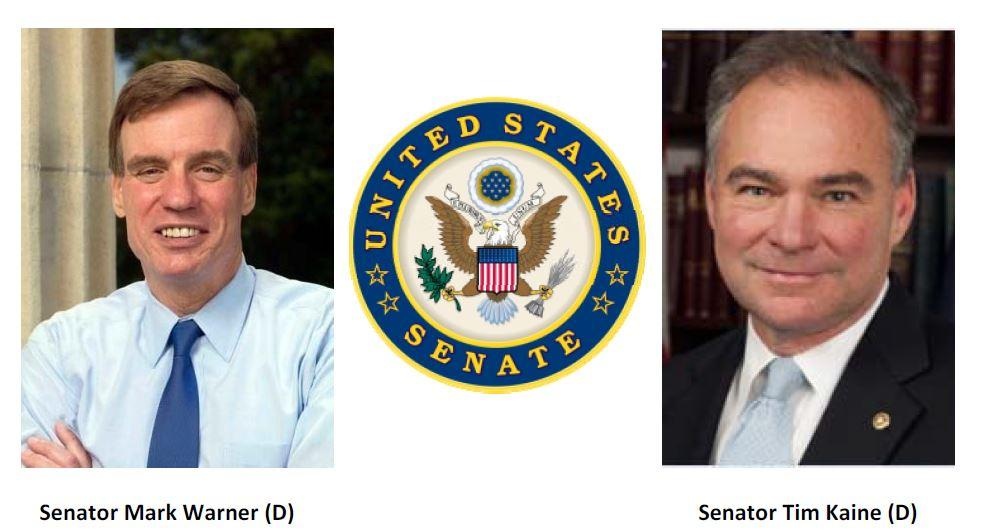 Two United States Senators, The Honorable Mark Warner and The Honorable Tim Kaine, to Address Hampton Roads Chamber of Commerce Members at Senatorial Forum