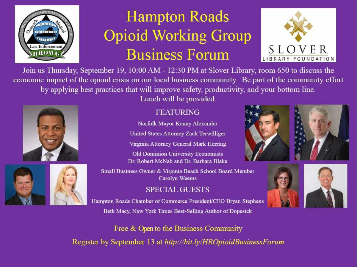 Hampton Roads Opioid Working Group Business Forum