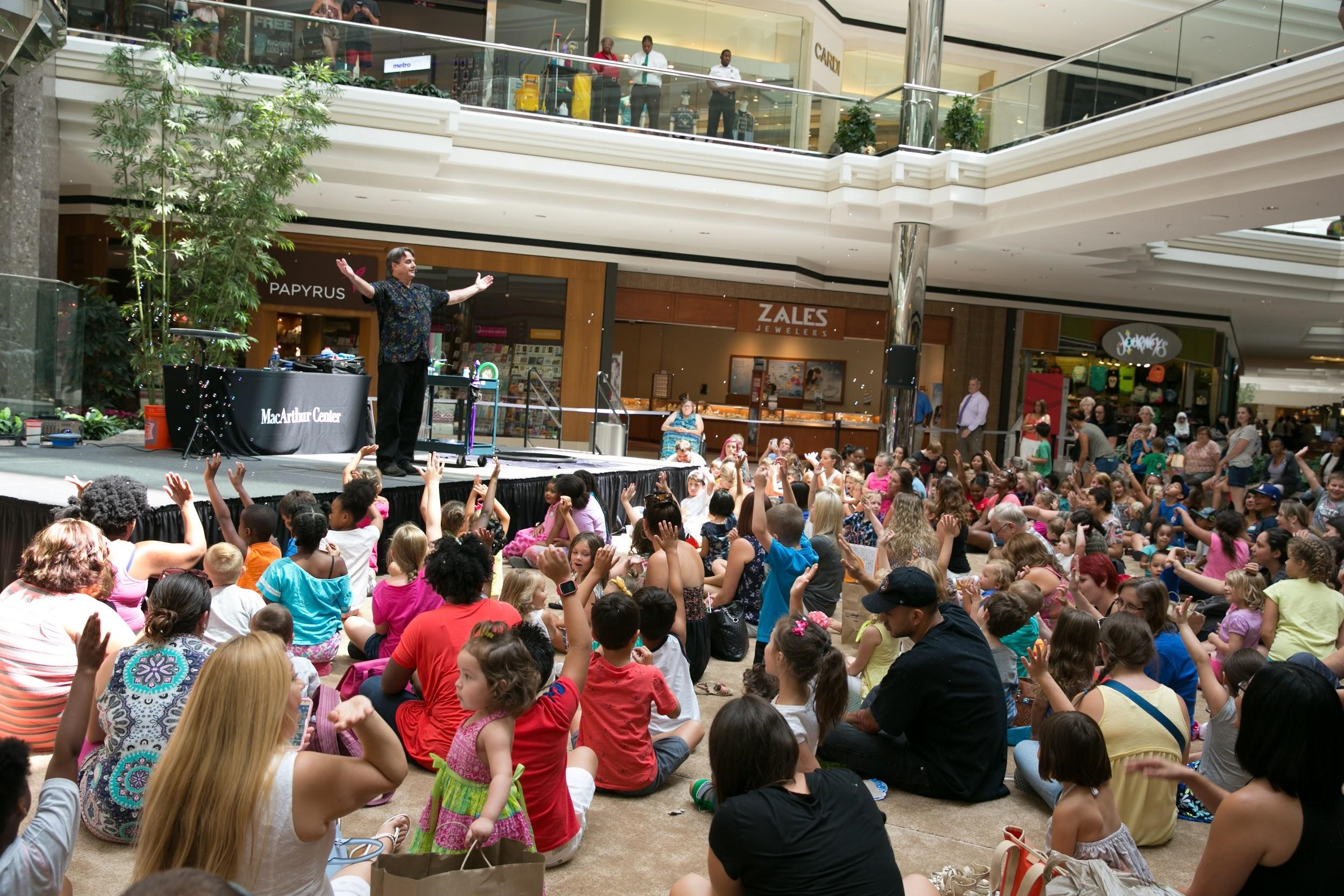 Magical Fun at MacArthur Center