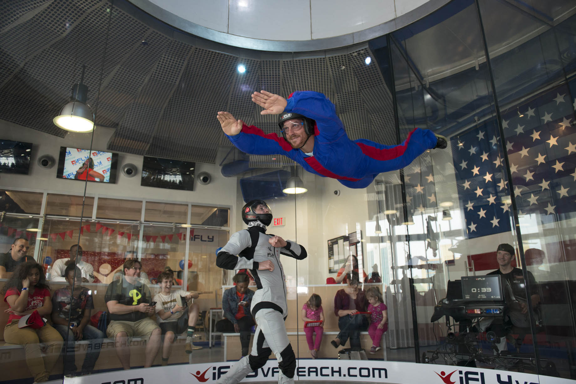iFLY Va Beach Indoor Skydiving: 20 percent off Online Bookings for month of June!