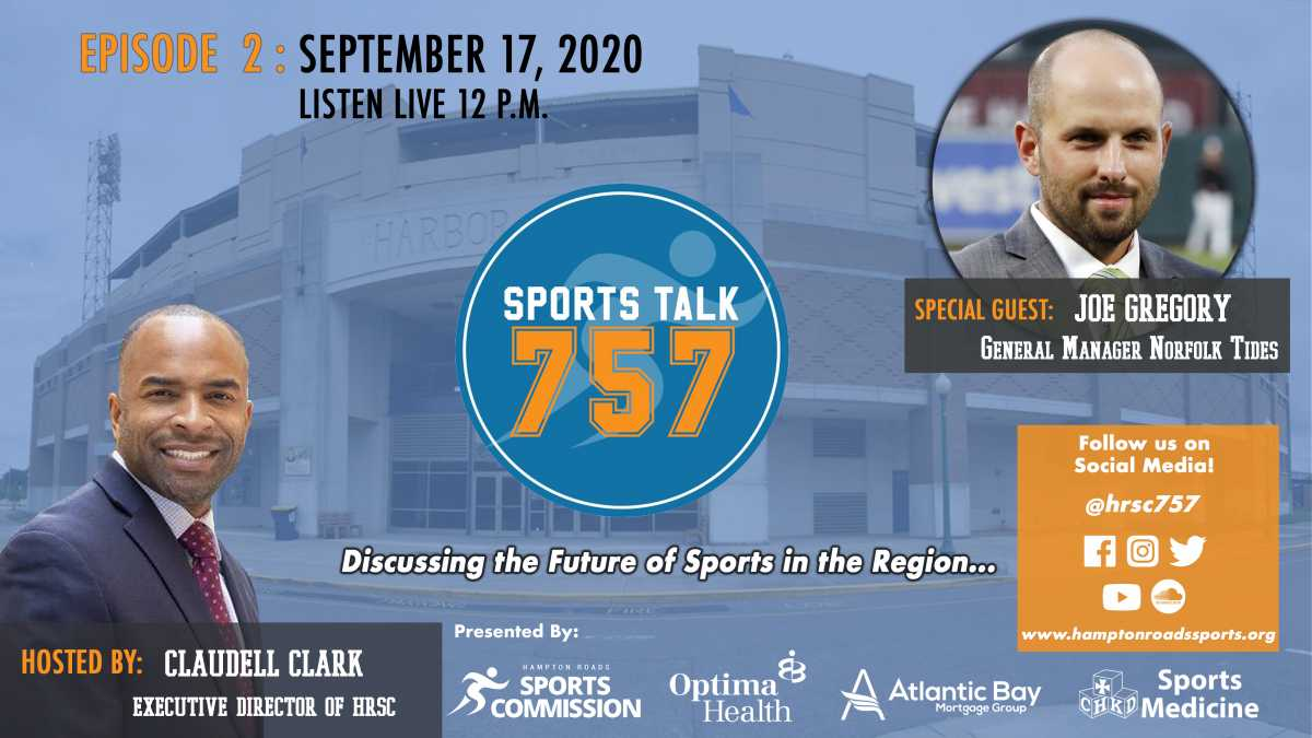 SportsTalk757 Episode 2 - Special Guest Joe Gregory