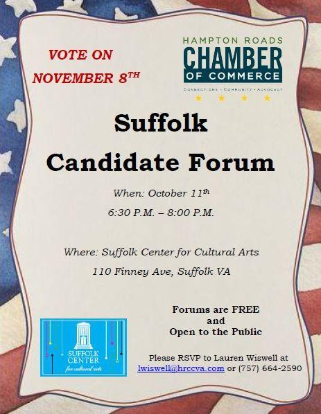 13 Suffolk Candidates Make it Clear
