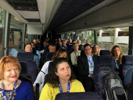 IRV Day 2 Development and Growth Bus Tour - Todd Reidbord with Walnut Capital hopped on bus