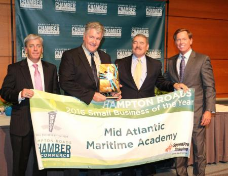 Mid-Atlantic Maritime Academy Named Overall 2016 Hampton Roads Small Business of the Year