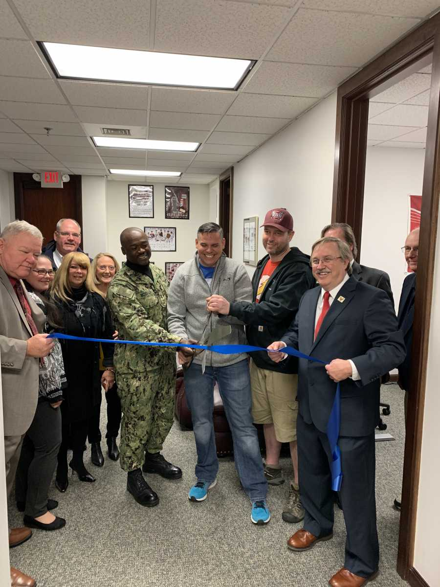 Troy for Troops Center Dedication