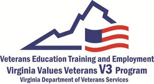 Virginia Department of Veterans Services and partners invite you to a Virginia Values Veterans Training Day!
