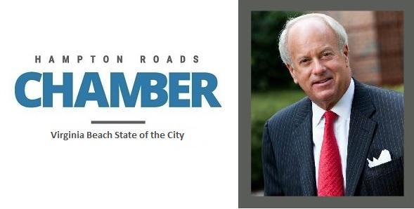 Mayor Sessoms to Share His Vision of the Future at Virginia Beach State of the City