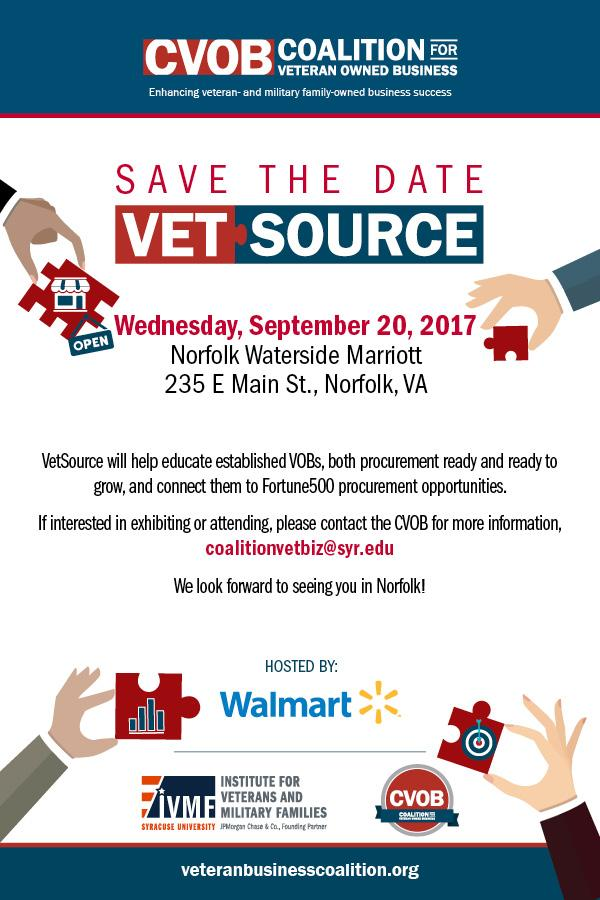 Vet Source Save the Date
