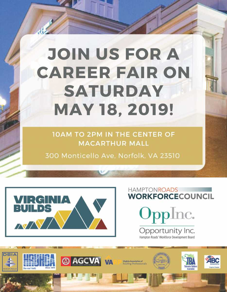 Virginia Builds Career Fair