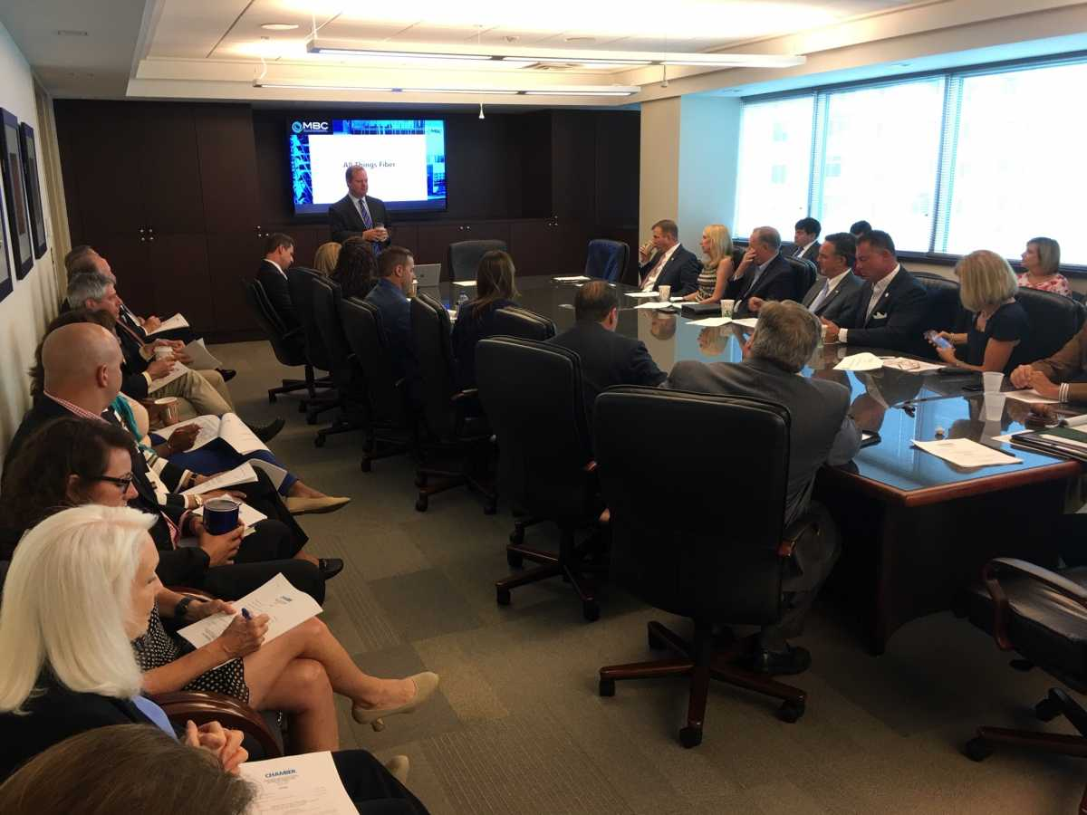 VB Division Board of the Hampton Roads Chamber Holds Meeting