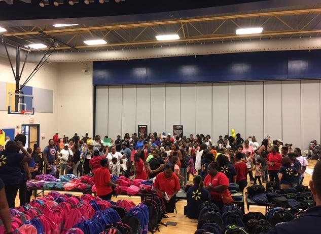Walmart Annual Book Bag Event