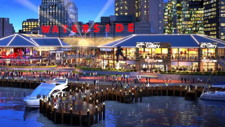 Waterside District Now Open