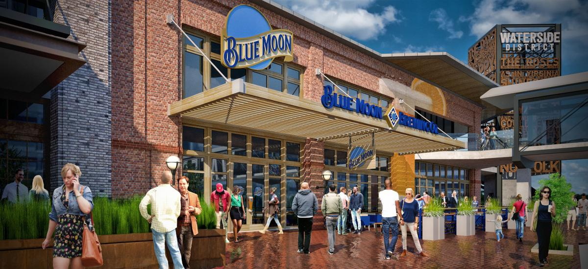 BLUE MOON TAPHOUSE TO OPEN AT WATERSIDE DISTRICT